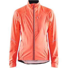 Craft Stride Rain Jacket Women, shock